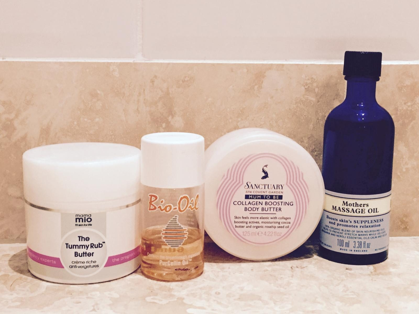 Stretchmark creams - What to expect in weeks 16 to 18 of pregnancy