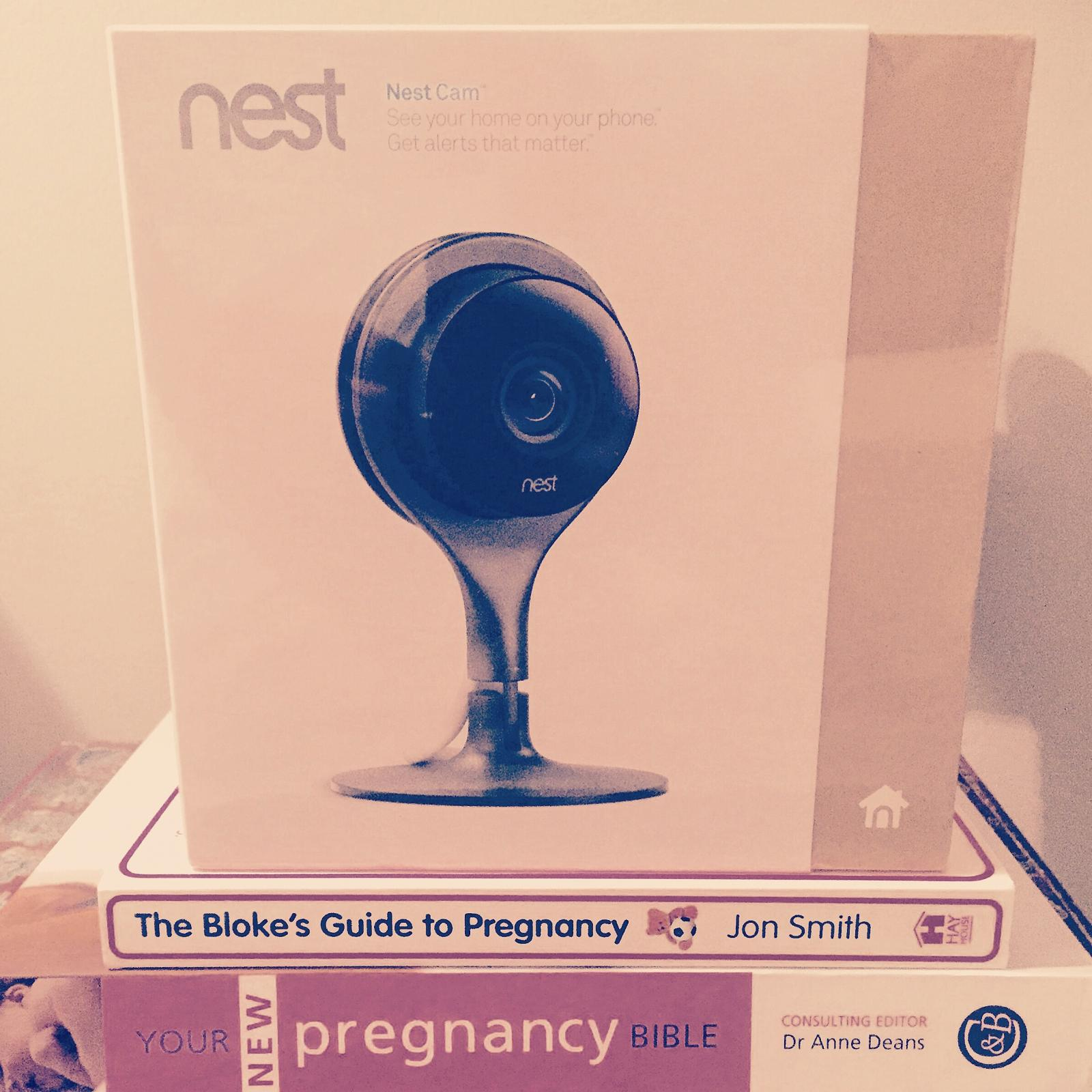 Nest Cam - baby monitor for gadget loving dads!