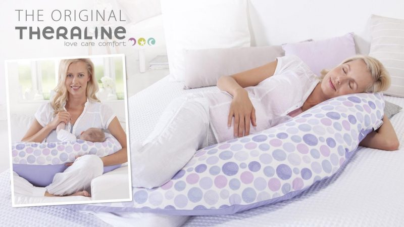 Awesome maternity pillow from Theraline
