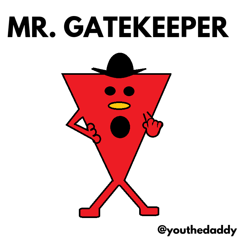 mr-gatekeeper goes on paternity leave