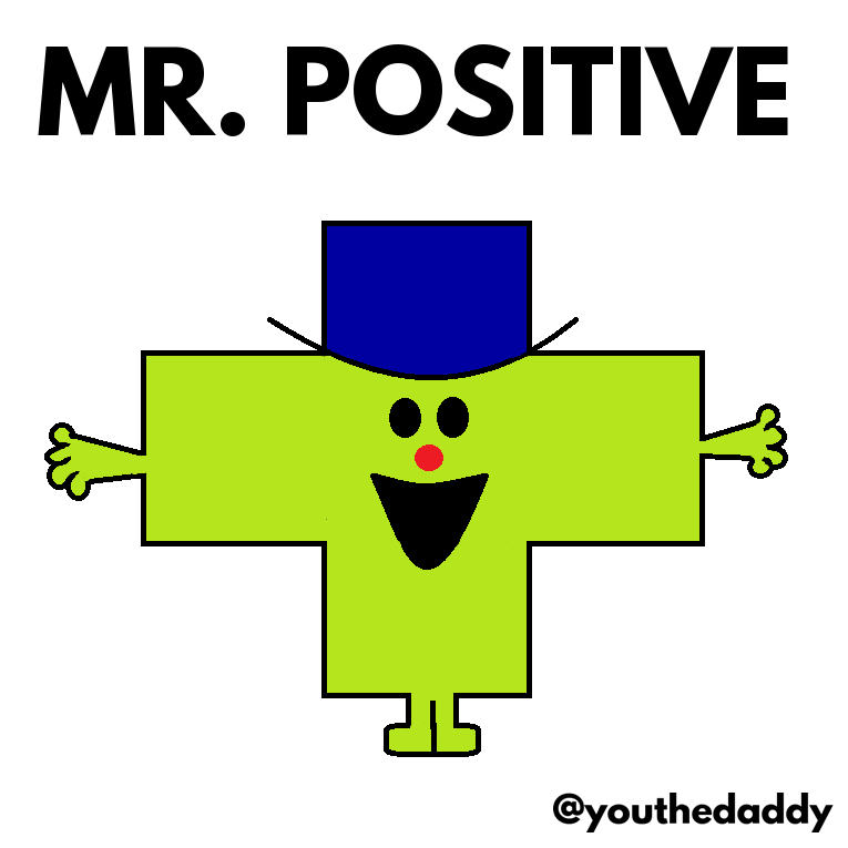 mr-positive goes on paternity leave