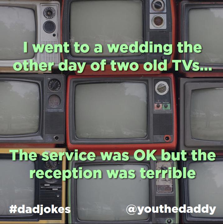 dad jokes - tvs