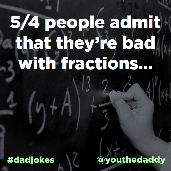 dad jokes - algebra