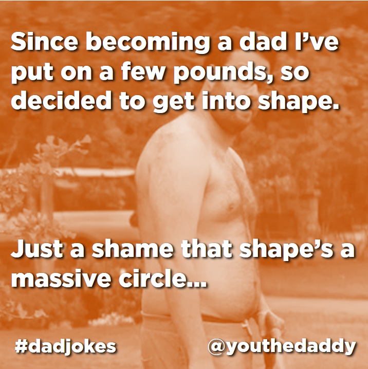 dad jokes - dad bod