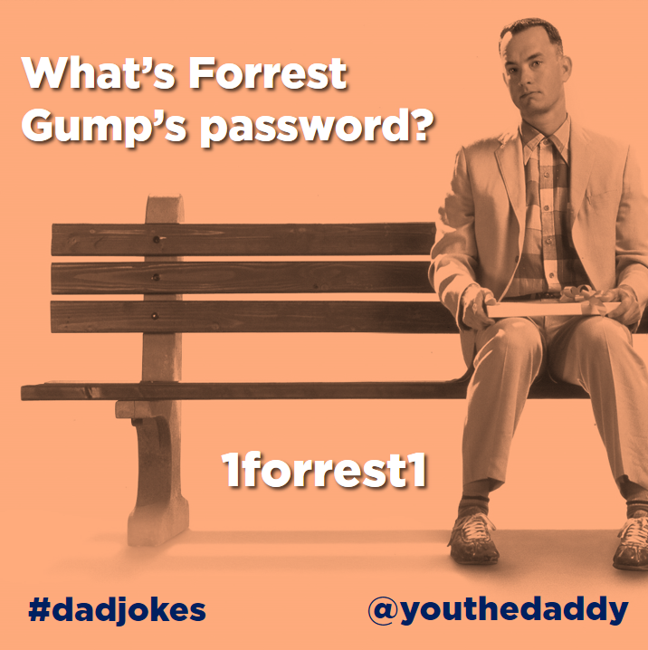 dad jokes - forest