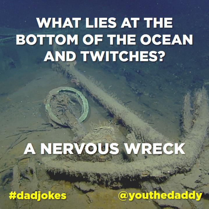 dad jokes - ocean