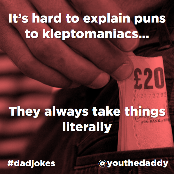 dad jokes - pun