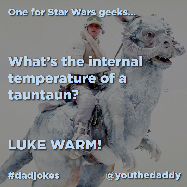 dad jokes - star-wars