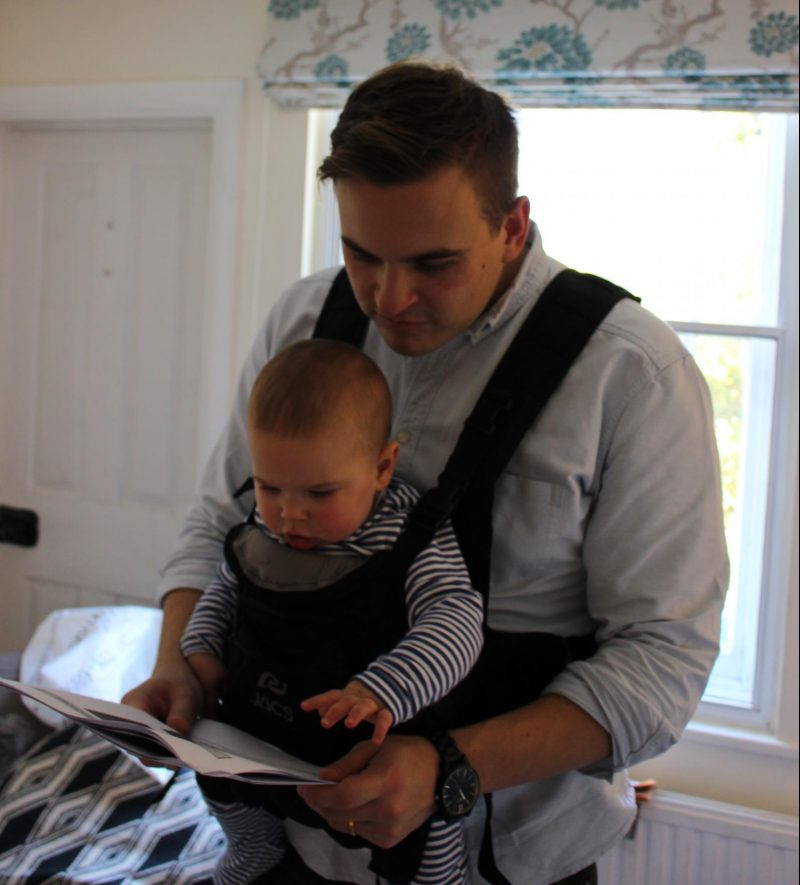 Jacs baby carrier you the daddy for Daddy carrier