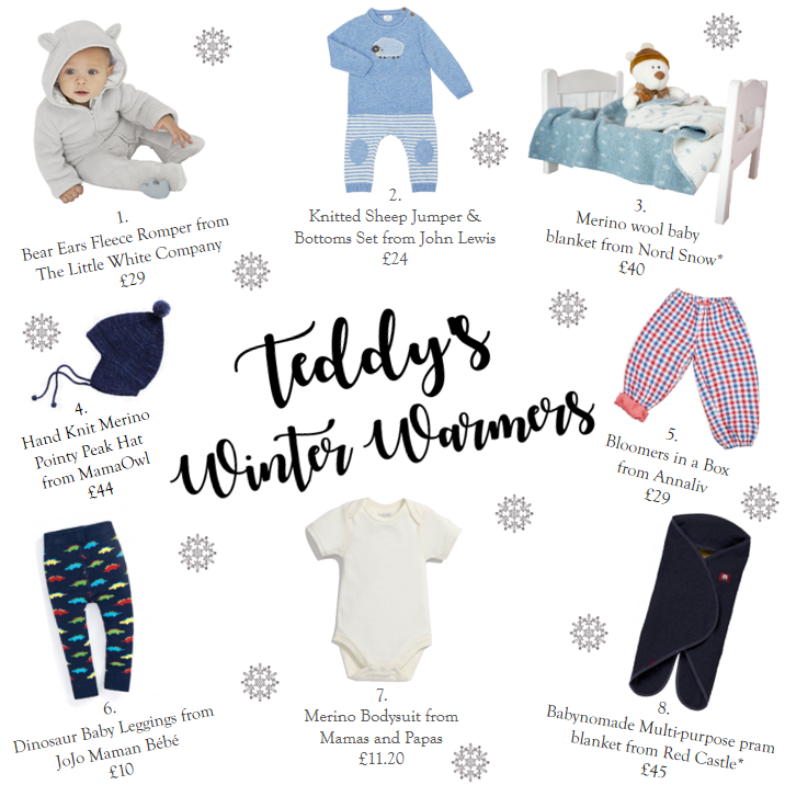 Teddy's Winter Warmers