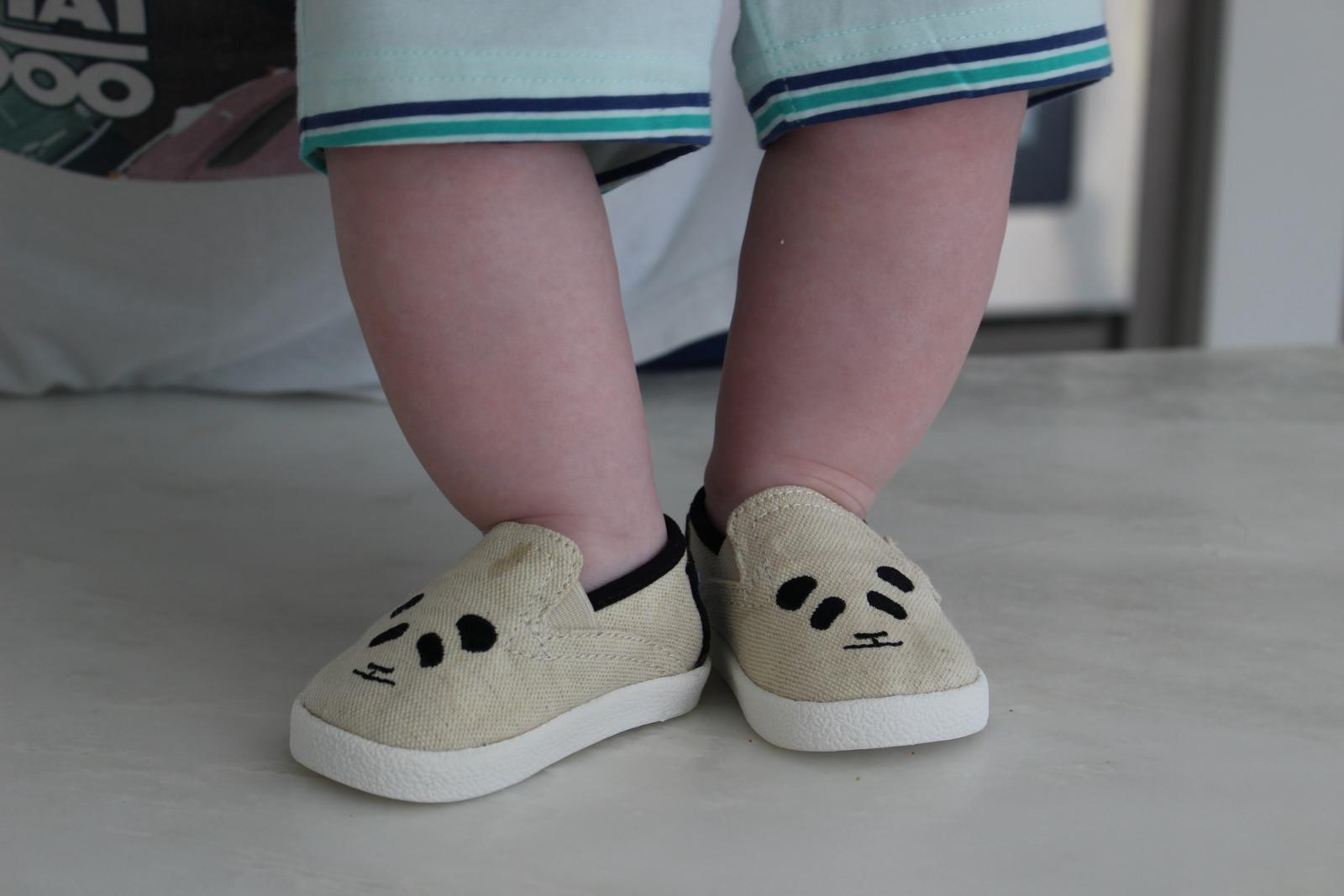 TOMS shoes for babys first holiday