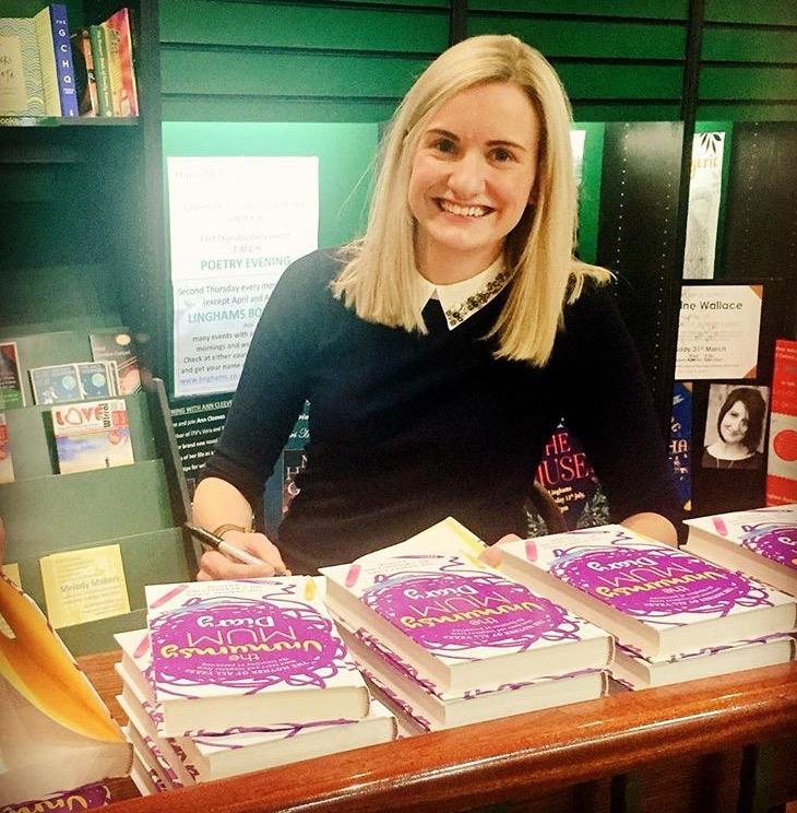 The Unmumsy Mum at the launch of her second book