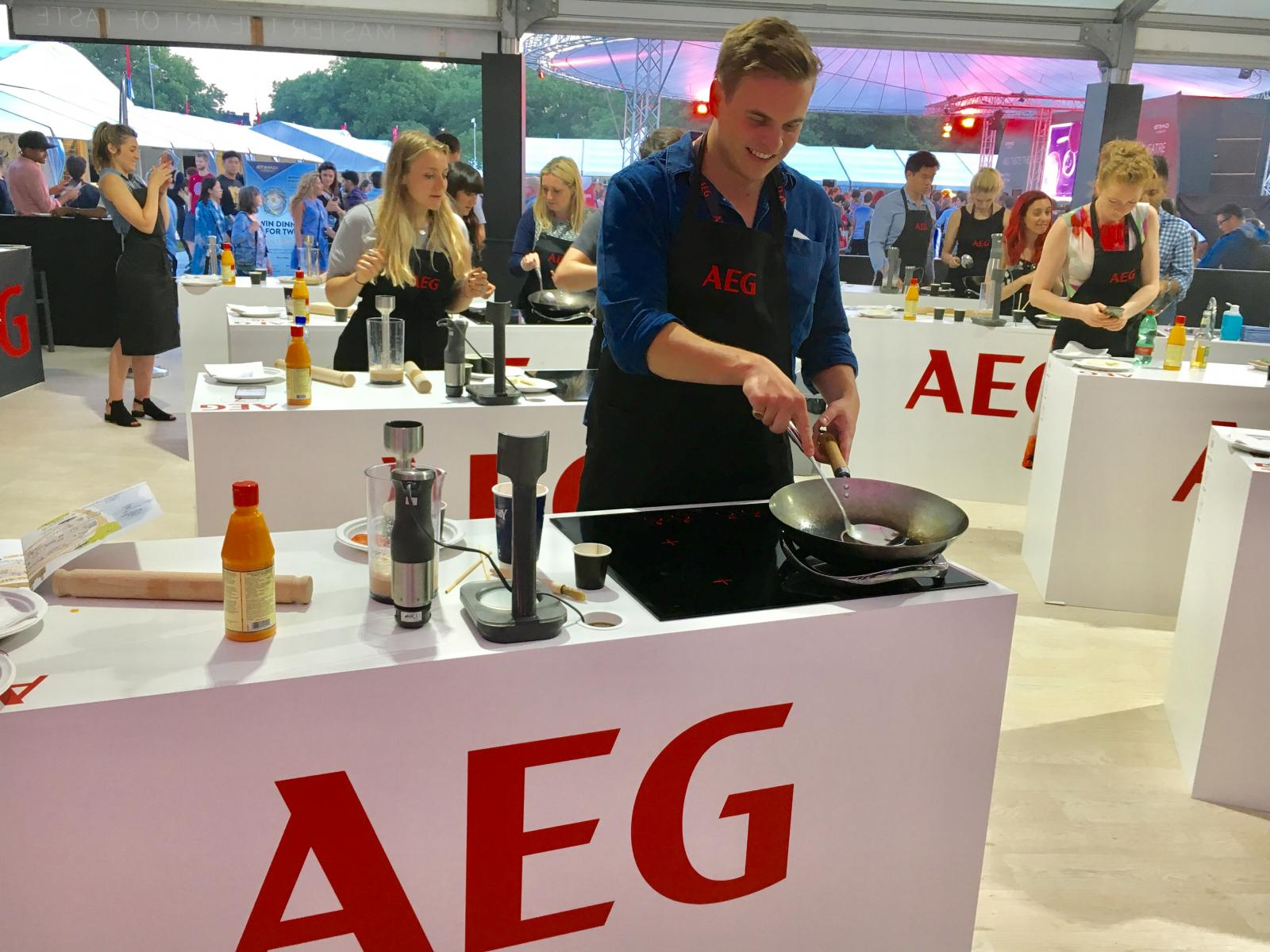 Learning to cook with AEG and School of Wok