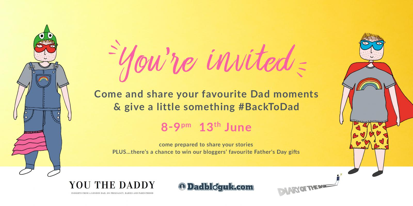 Invitation to dad party