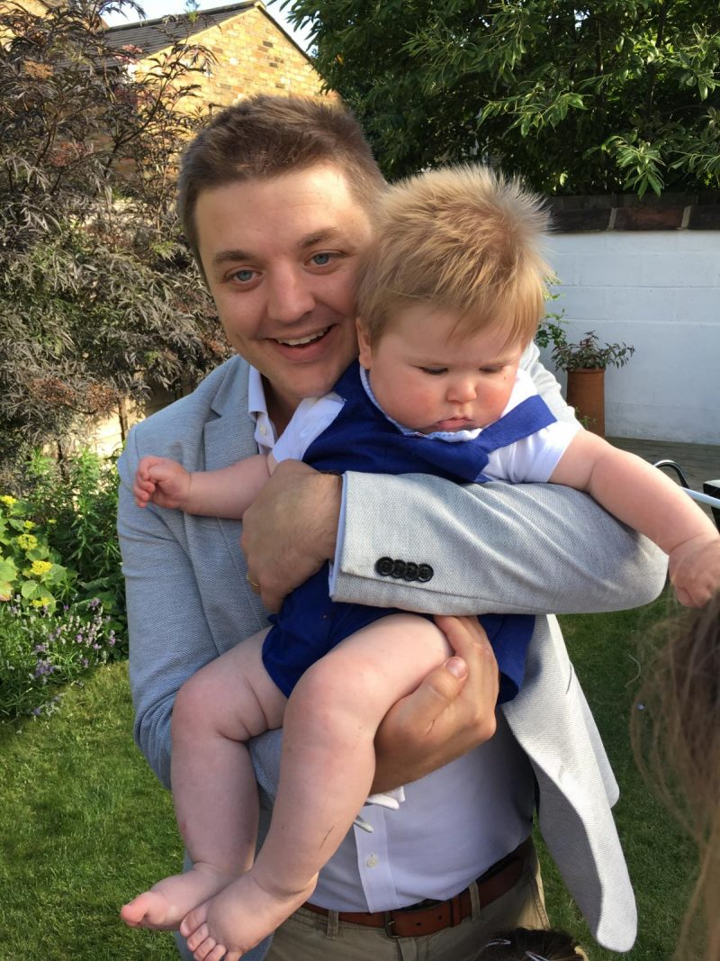 Teddy's Christening - Uncle Ed
