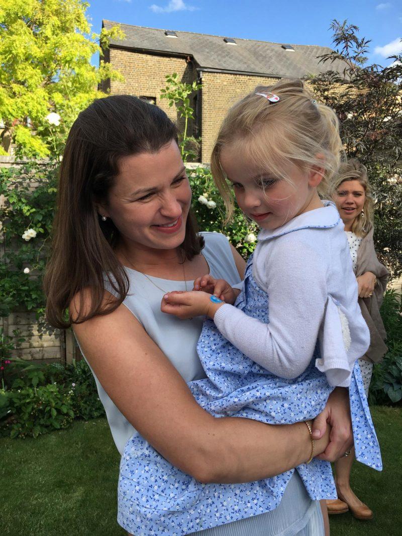 Teddy's Christening - Rosie and Annie