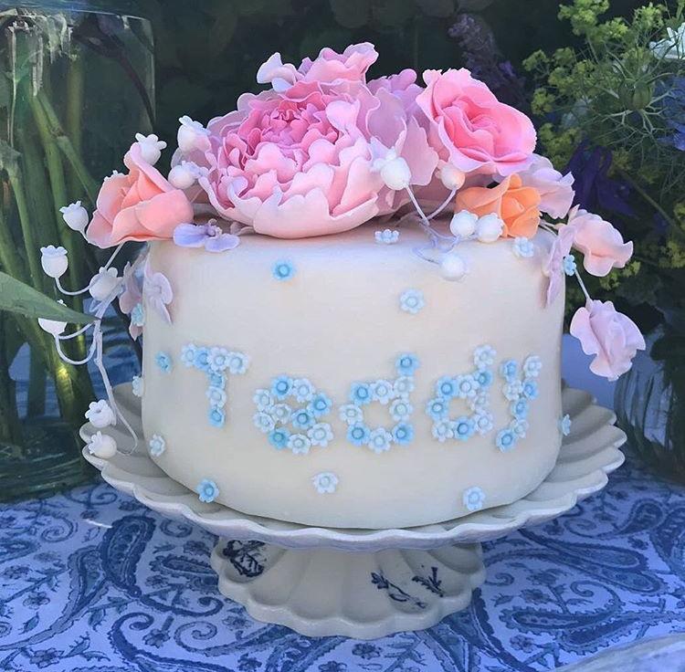 Teddy's Christening cake