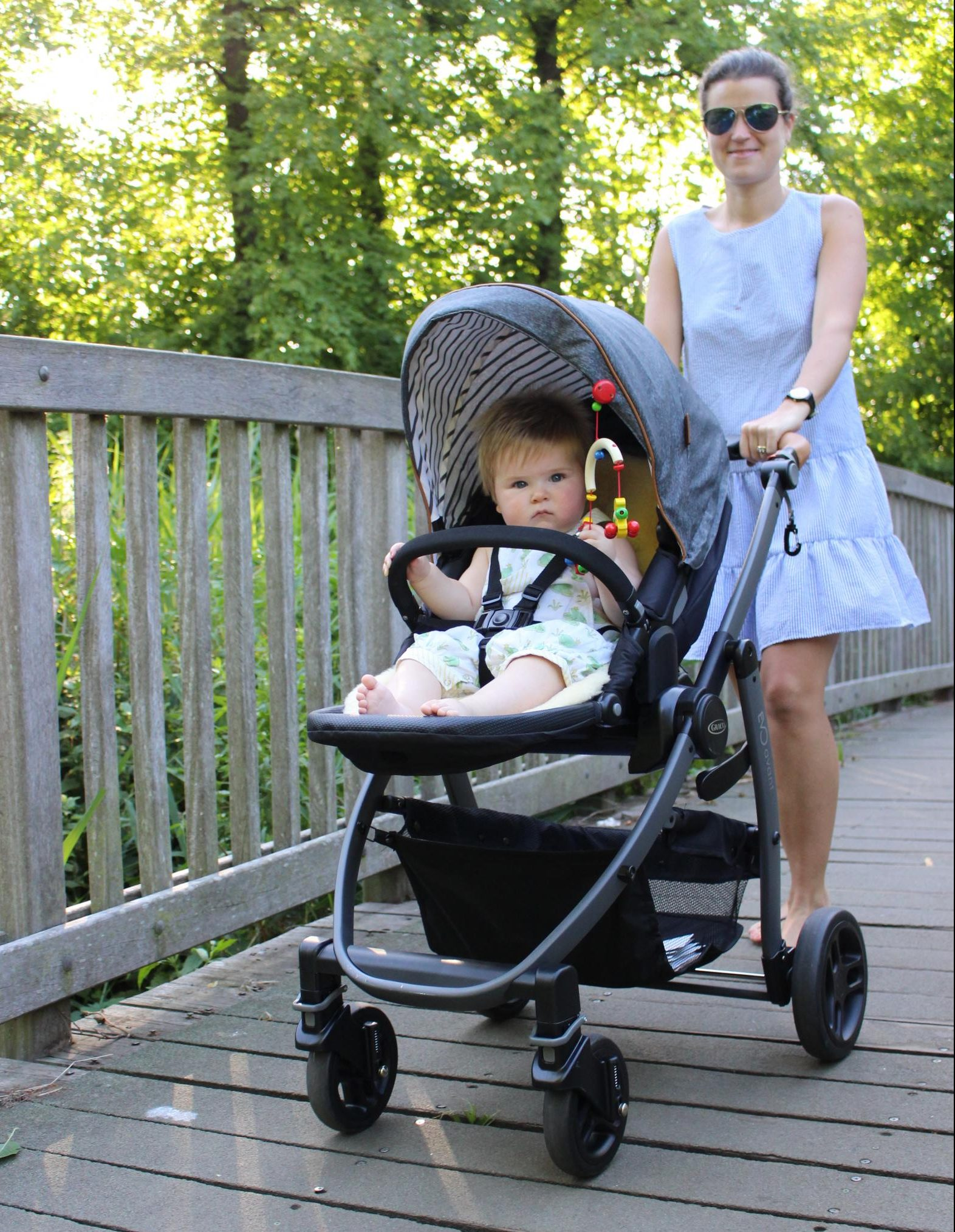 Graco Evo pushchair - top choice for dads and mums