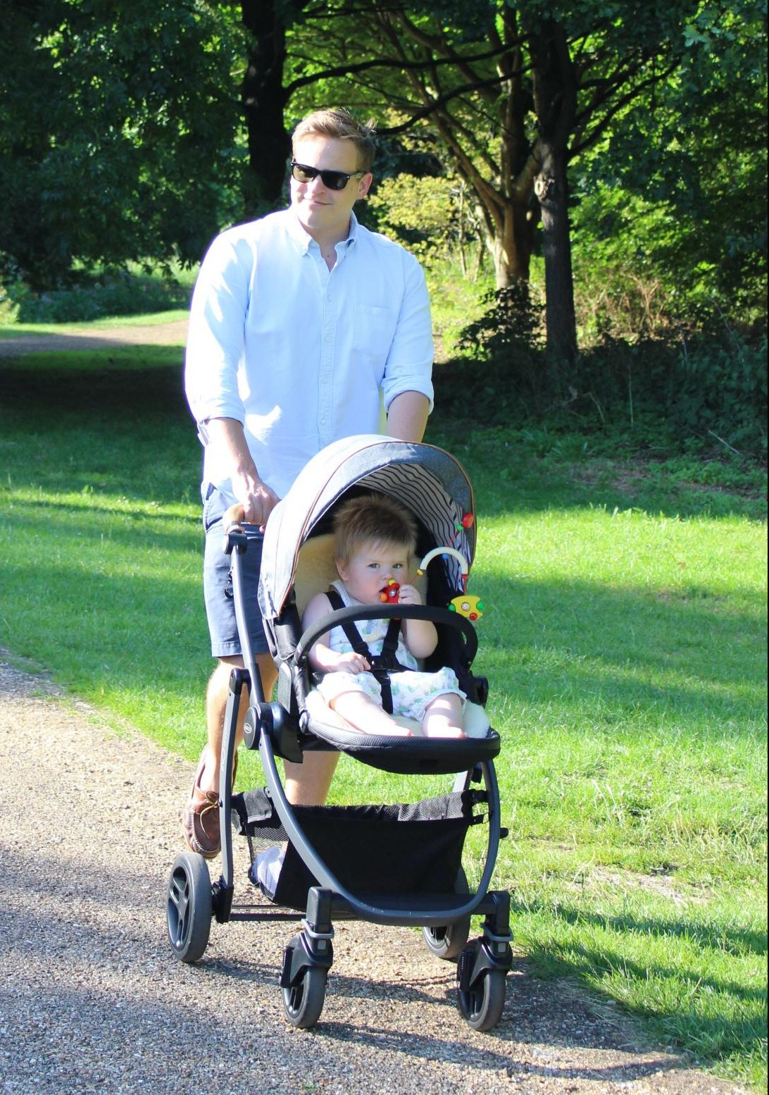 Graco Evo pushchair - top choice for dads