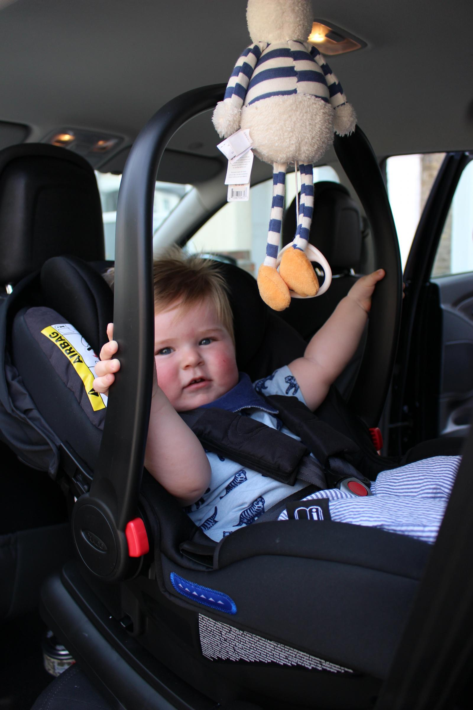 Graco car seat - top choice for dads