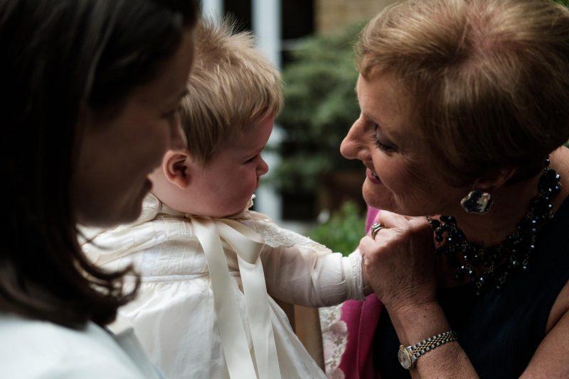 Teddy's Christening - Granny