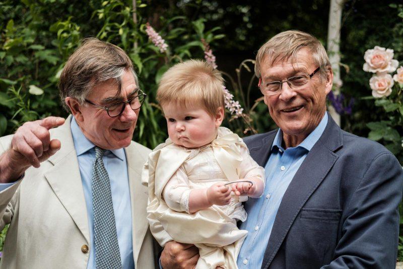Teddy's Christening - The Grandpas