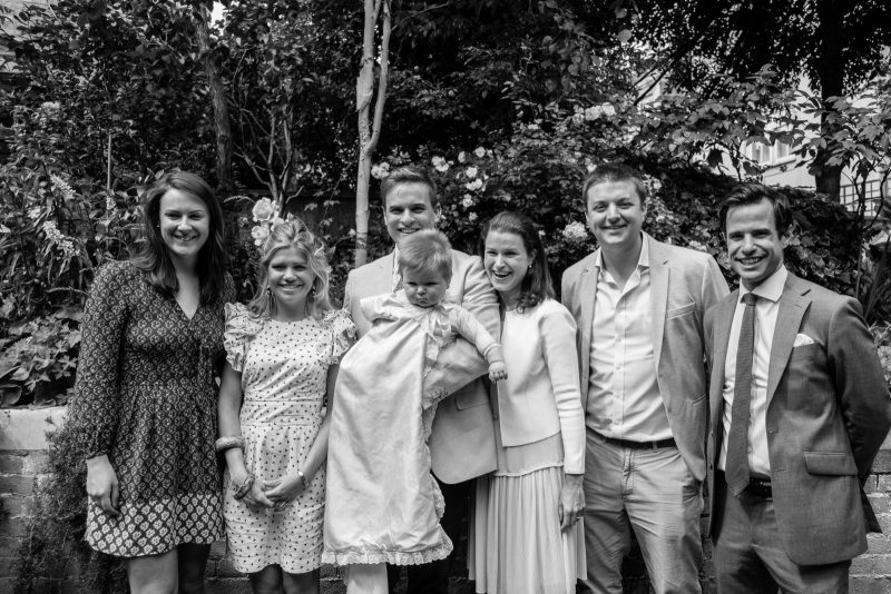 Teddy's Christening - The Godparents