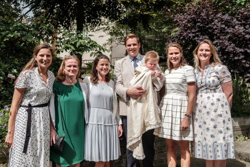 Teddy's Christening - the aunties