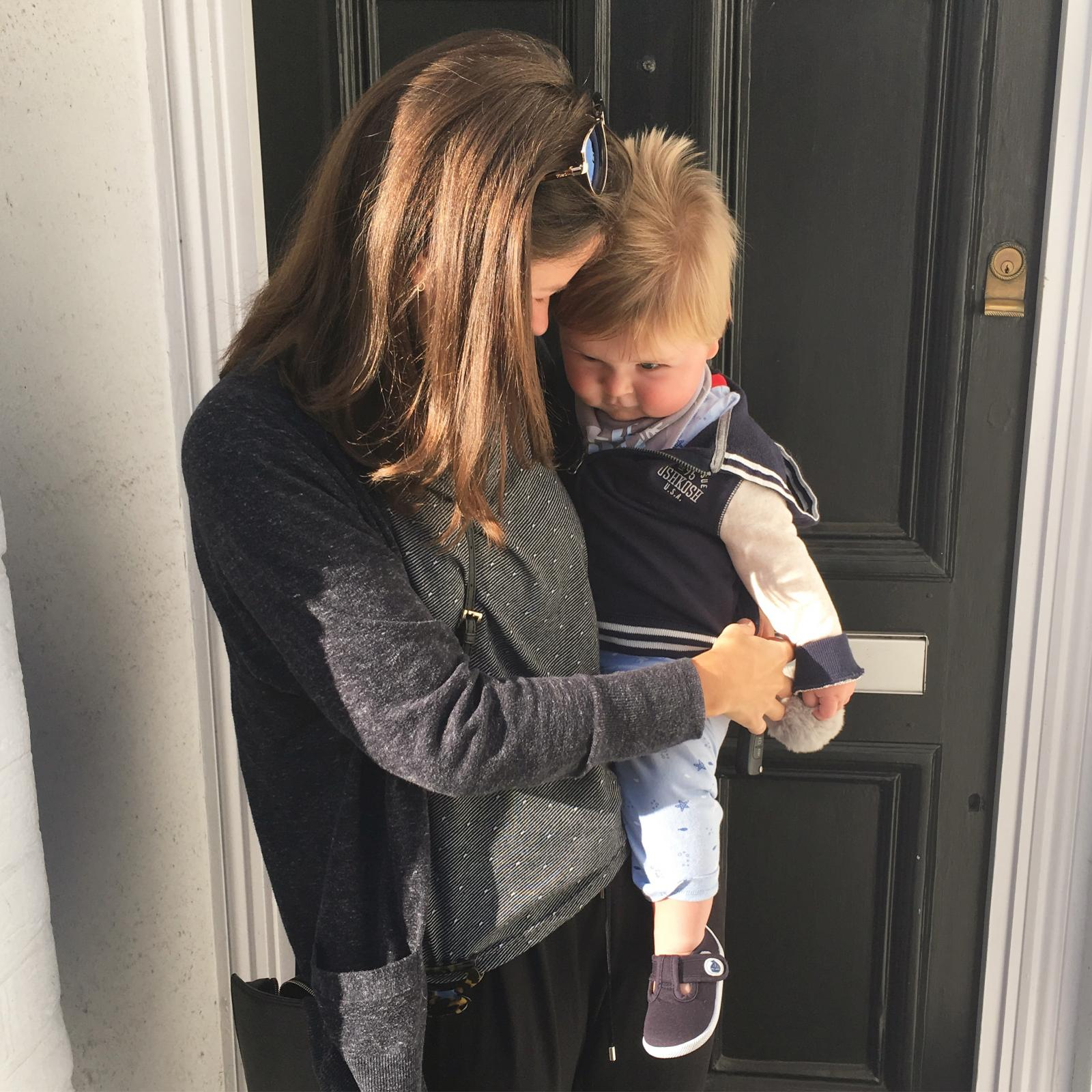 Emotional First Day At Work On First Day Of Co Hosting: The End Of Maternity Leave: A Poem For Mummy On Her First