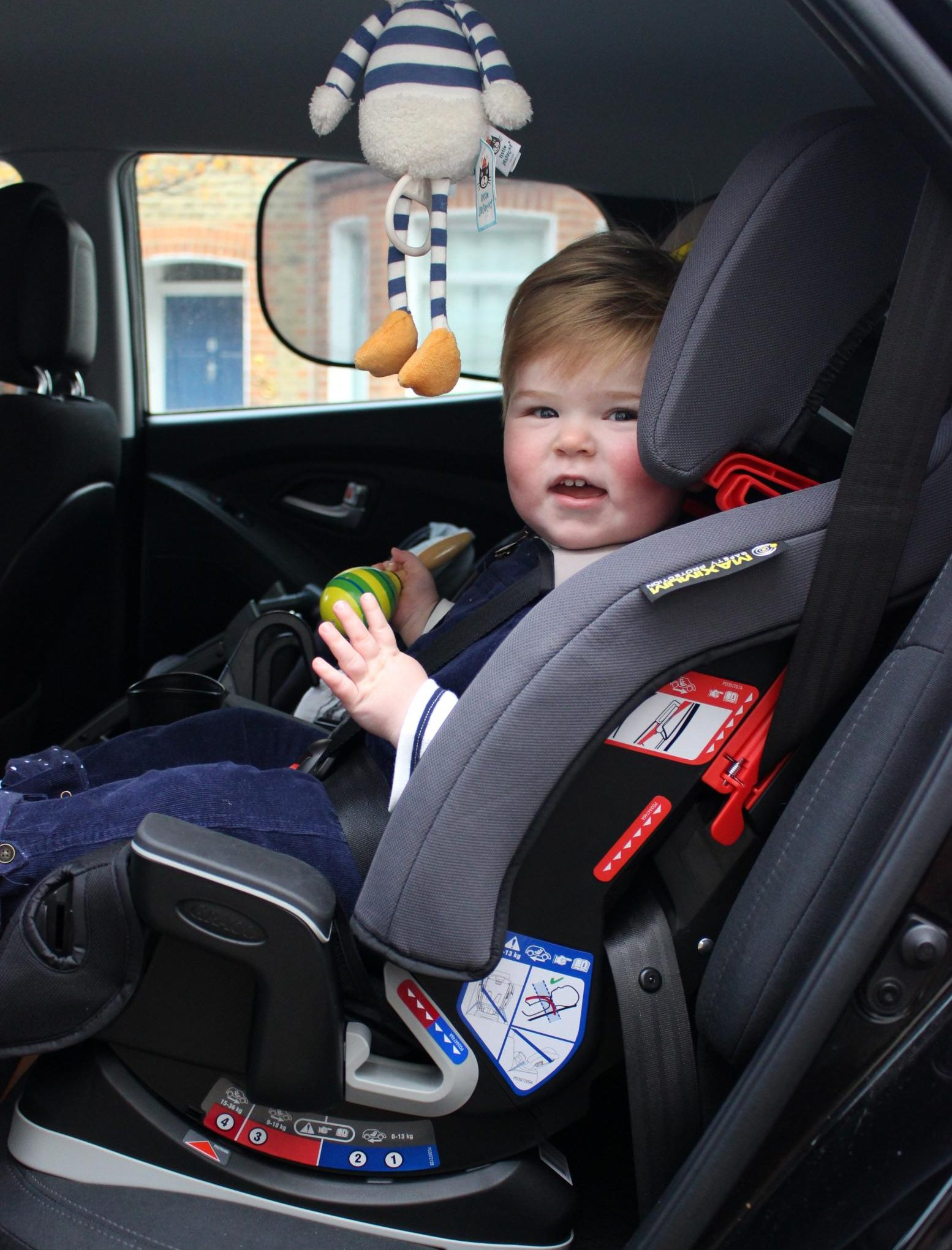 Milestone All-in-one car seat - ready for the sixth trimester