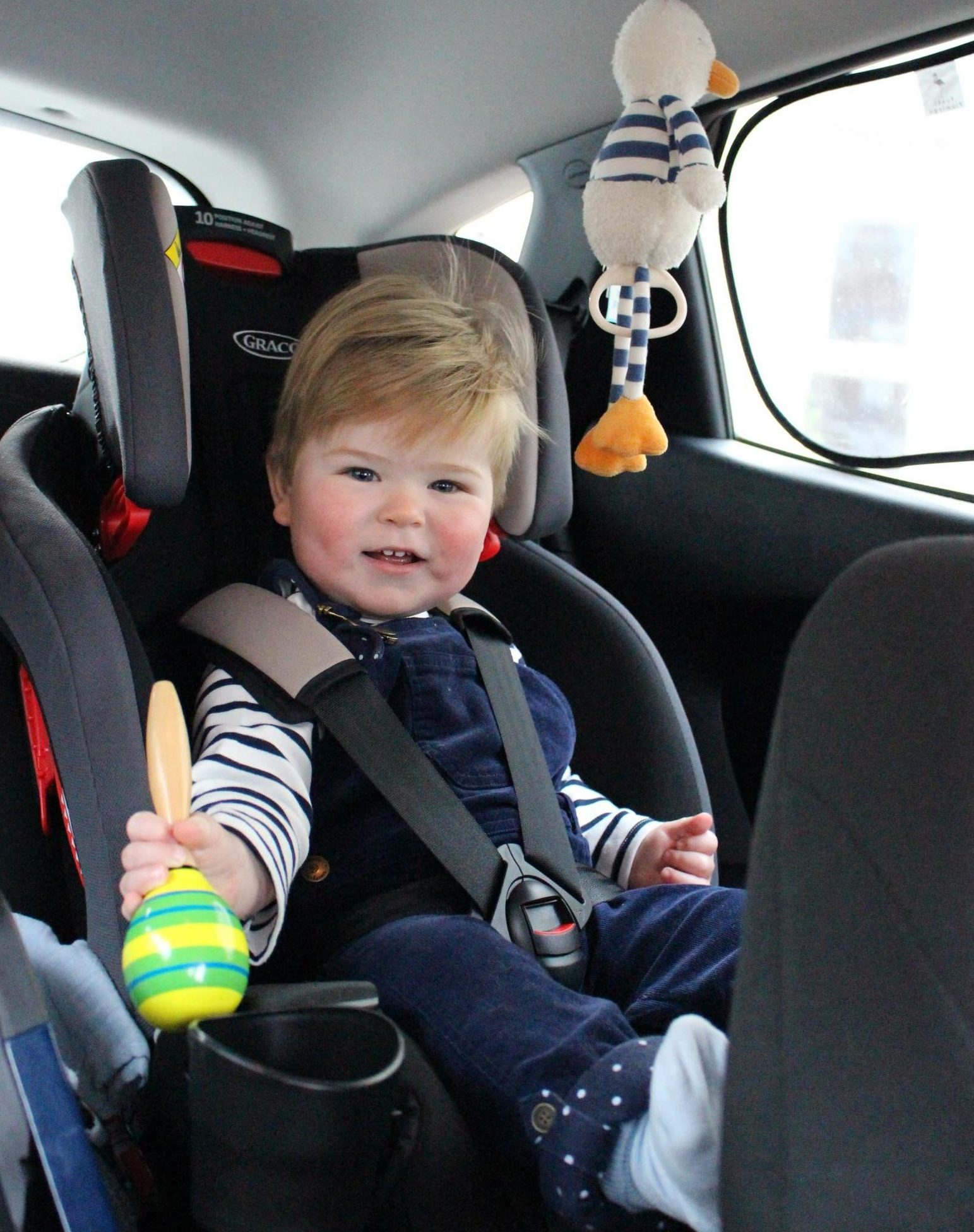 Milestone All-in-one car seat - perfect for the sixth trimester
