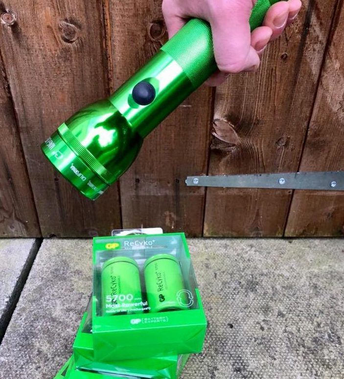 Rechargeable batteries for all your boys' toys