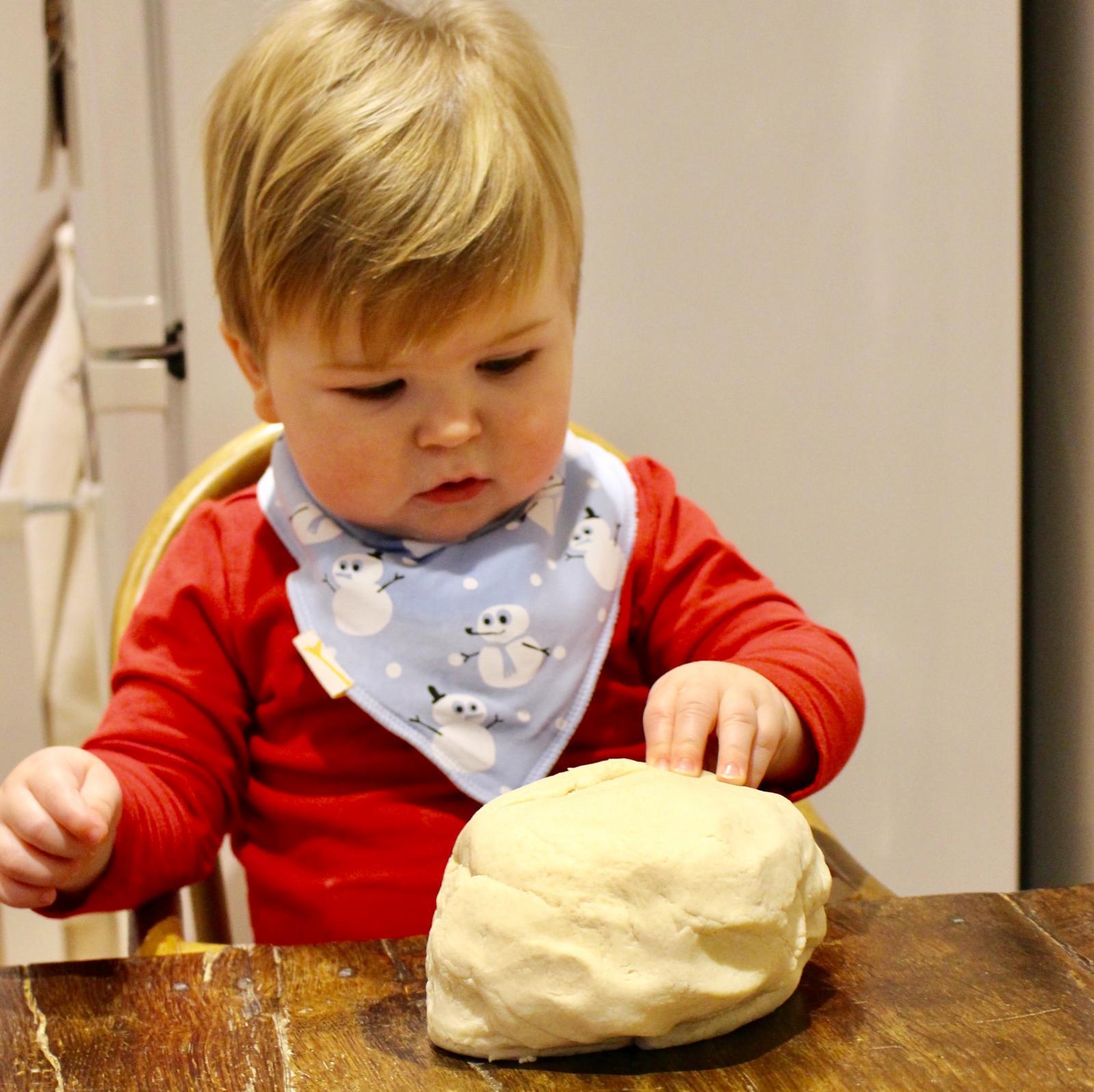Salt Dough Handprint Decorations - the perfect dough