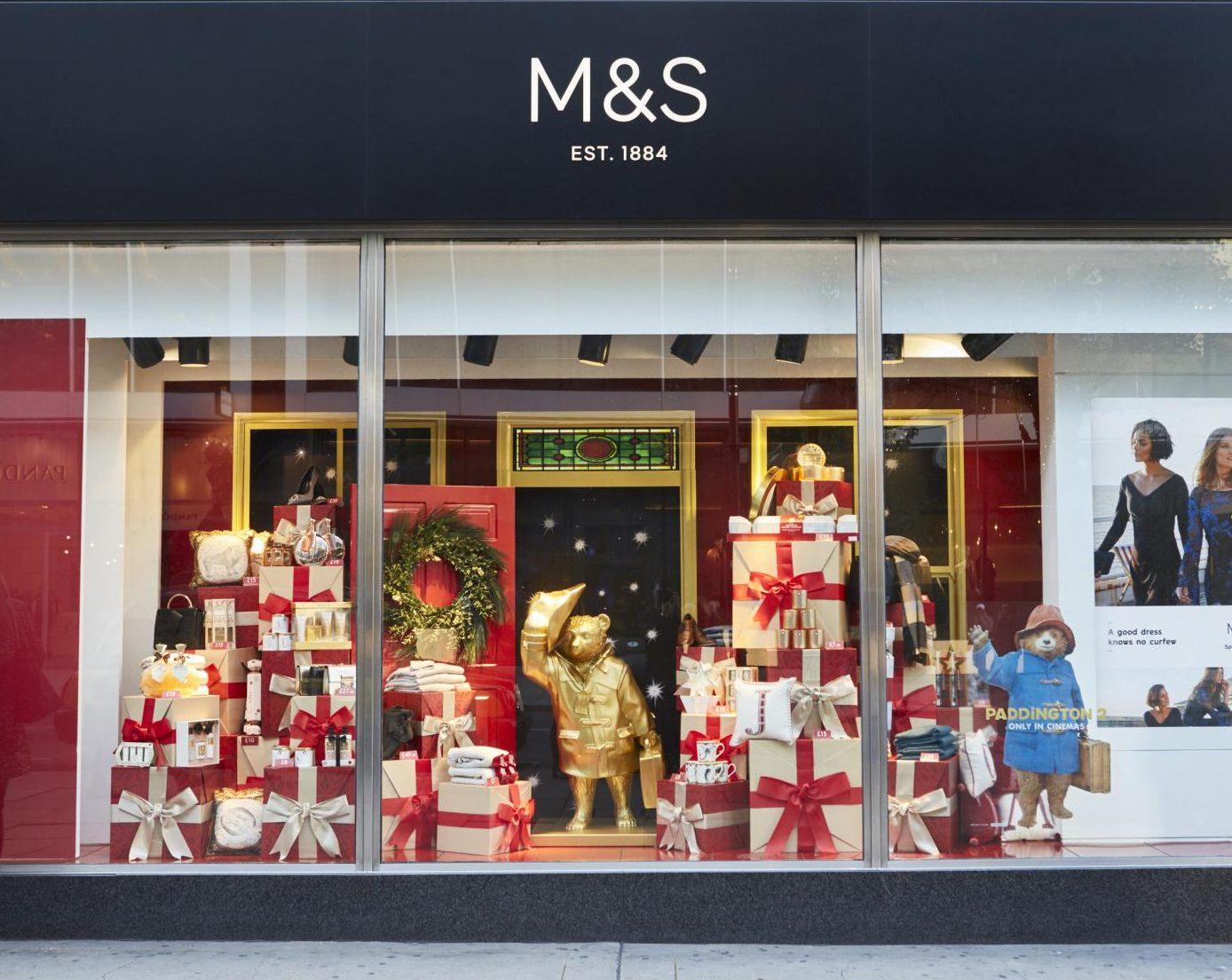 Marks & Spencer Christmas Window
