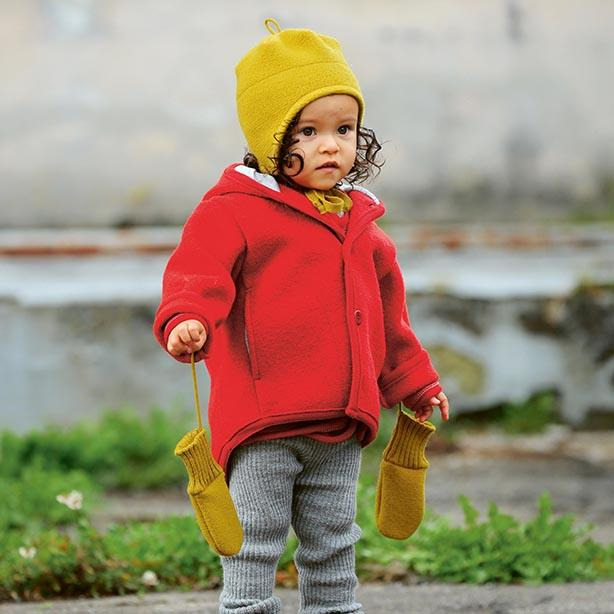Toasty Toddlers - boiled wool coat