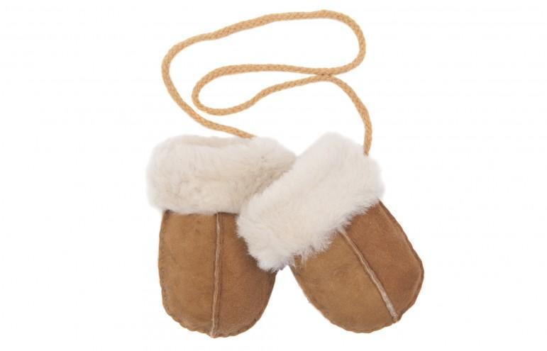 Toasty Toddlers - sheepskin mittens