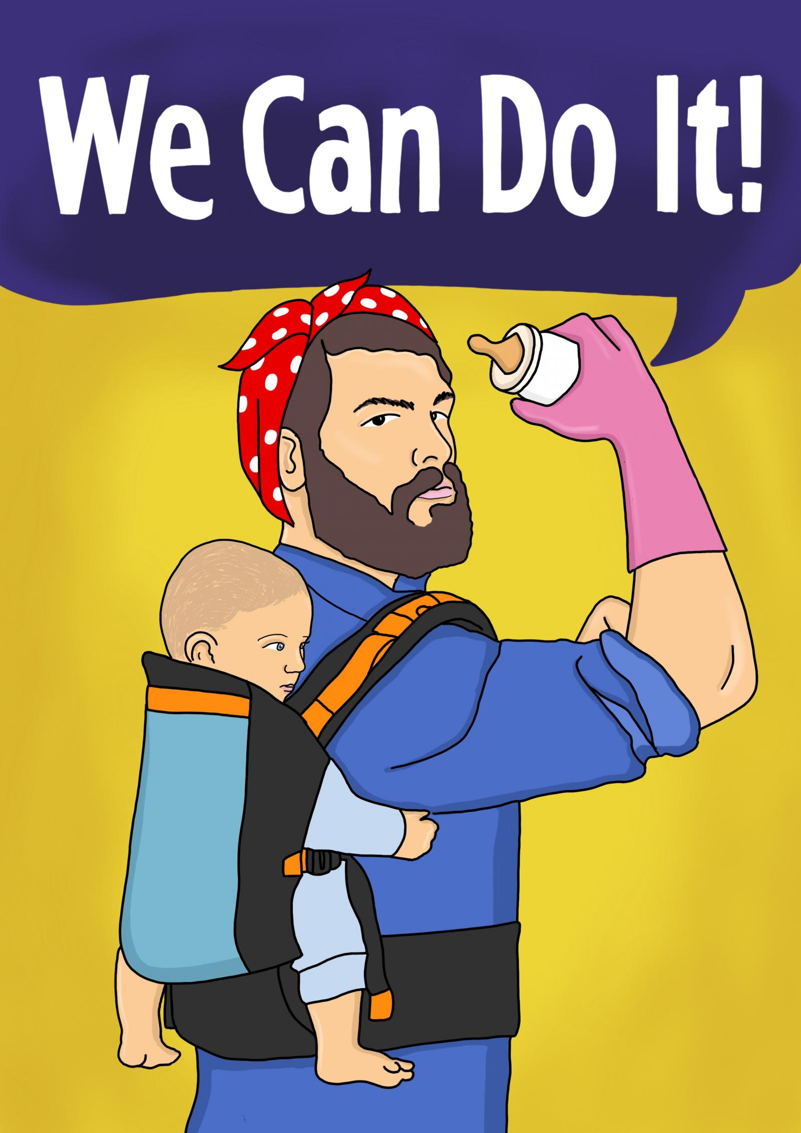Share the leave - We can do it - shared parental leave campaign
