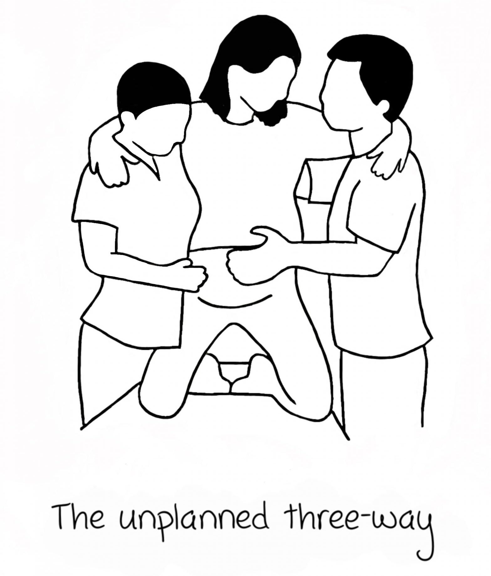 If Kama Sutra did birthing positions - The unplanned three-way