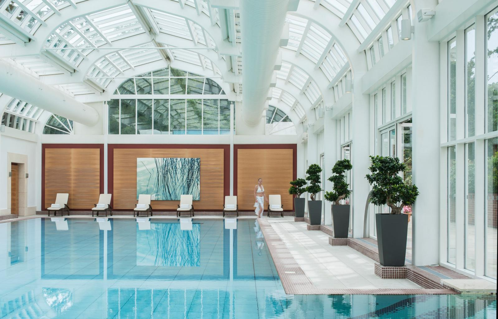 &Breathe Four Seasons retreat pool