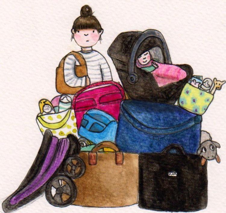 The realities of parenting - weekend away