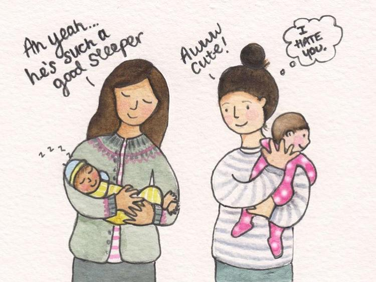 The realities of parenting - not jealous at all