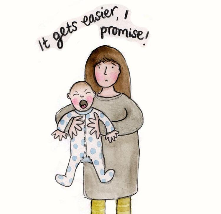 The realities of parenting - it gets easier