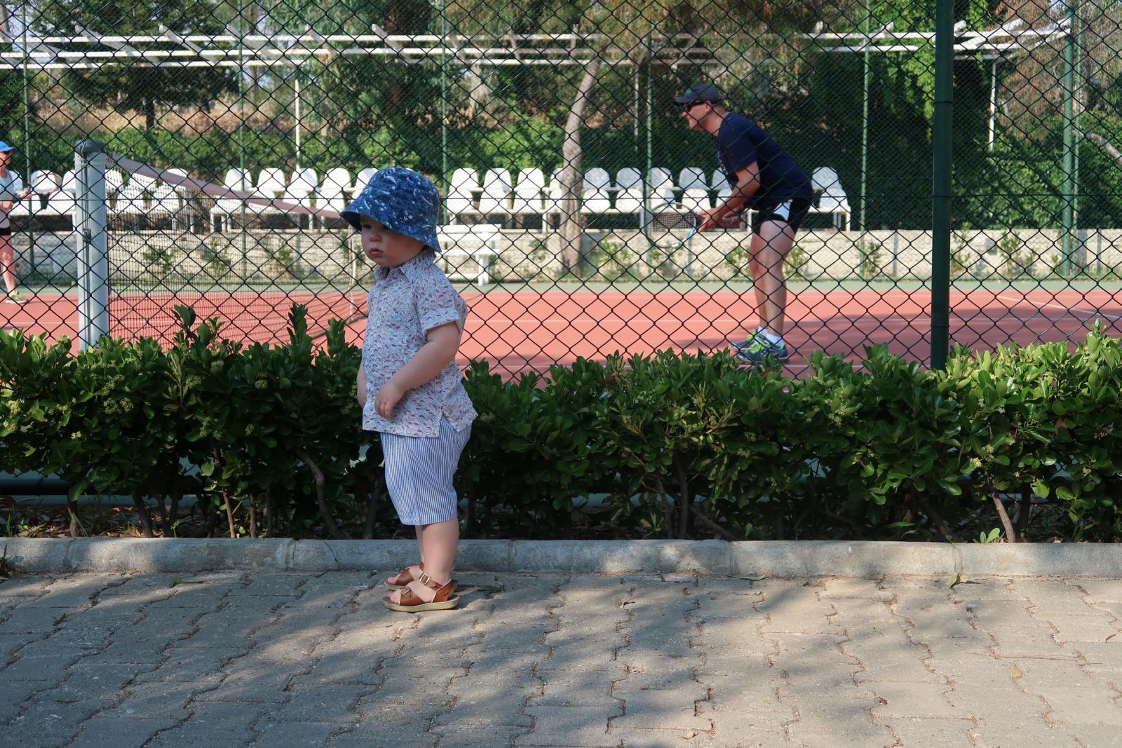 Mark Warner social tennis