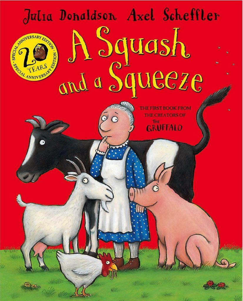 Books for toddlers - A Squash and a Squeeze