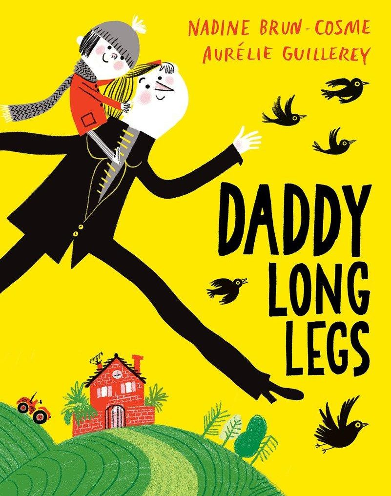 Books for toddlers - Daddy Long Legs