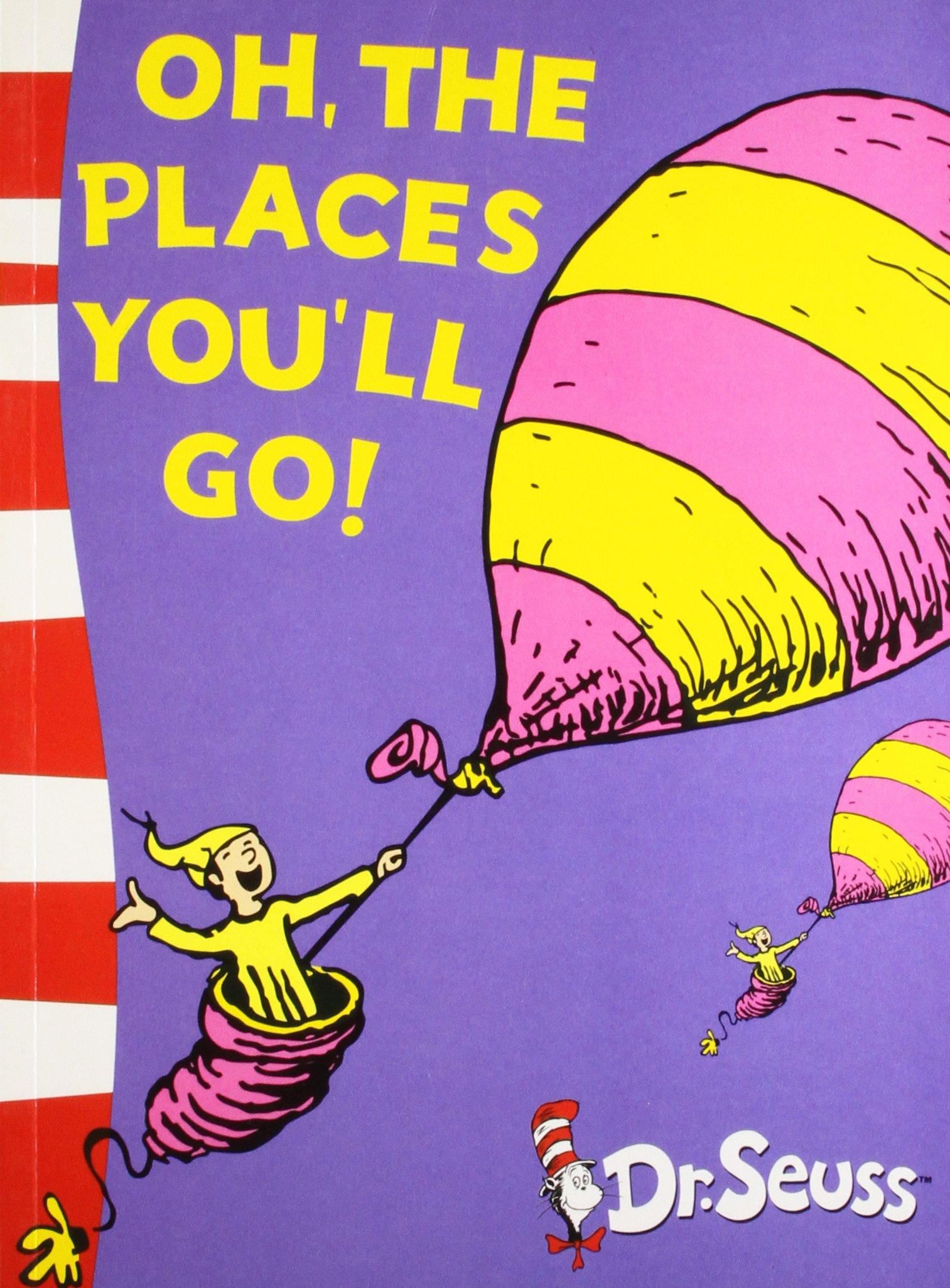 Books for toddlers - Oh, the places you'll go