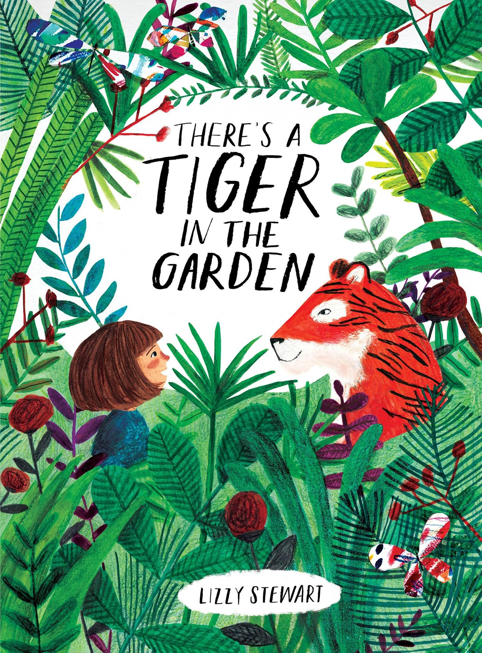 Books for toddlers - There's a tiger in the garden