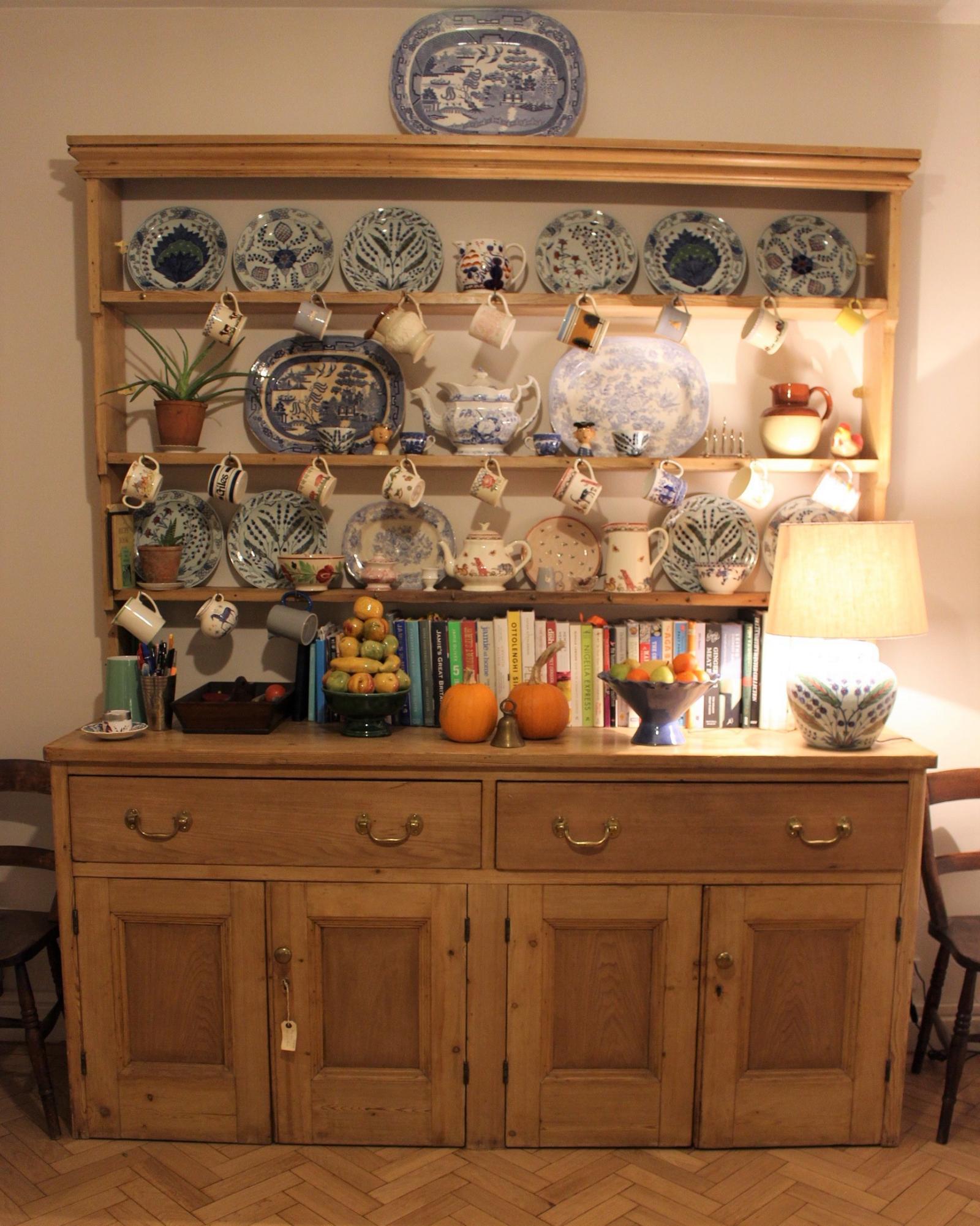 Kitchen Design Inspiration - our antique dresser