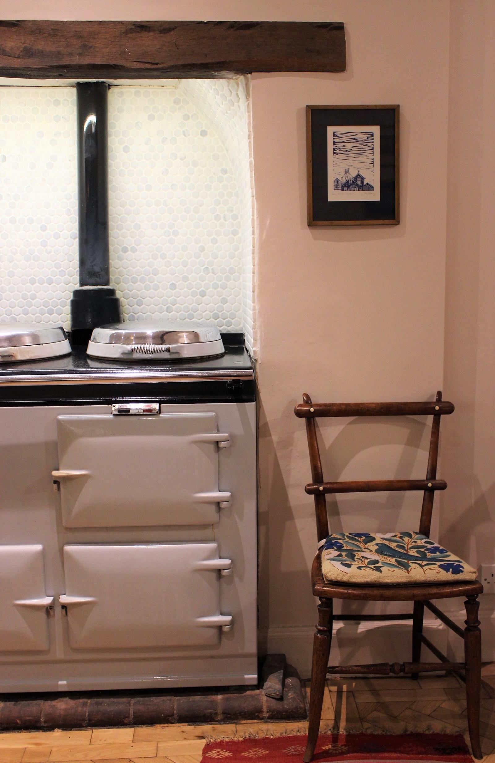 Kitchen Design Inspiration - our lovely aga