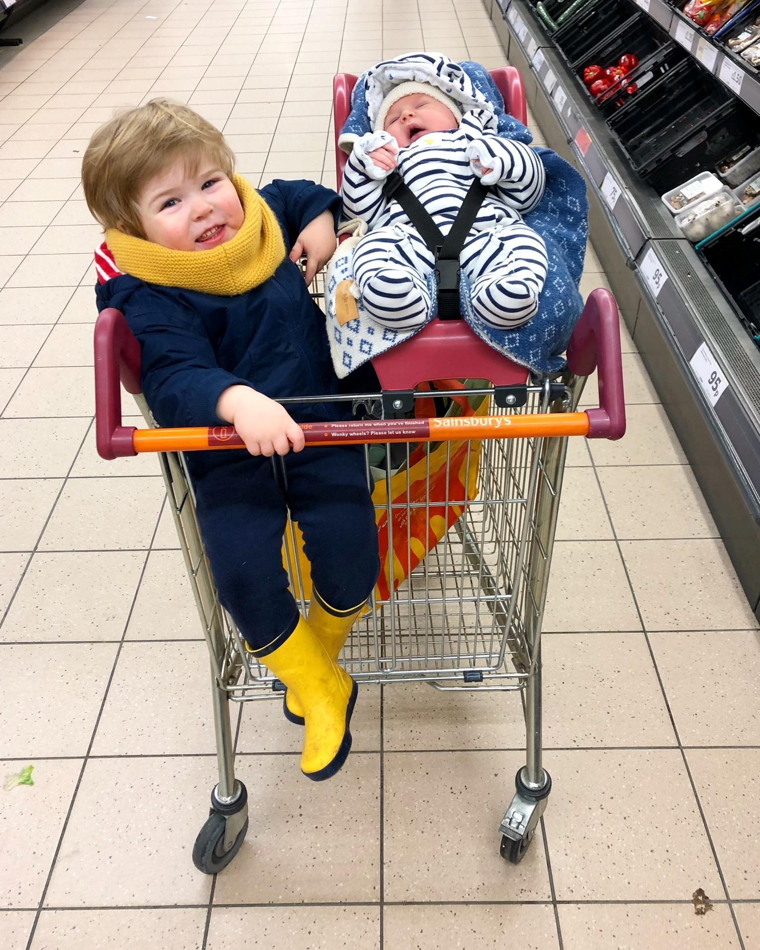 New mum diary - first supermarket trip